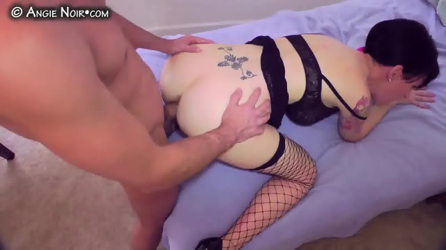 Ass To Mouth And Deepthroat - Angie Noir