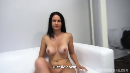 Amateur Brunette Likes Hard Dicks - scene 8
