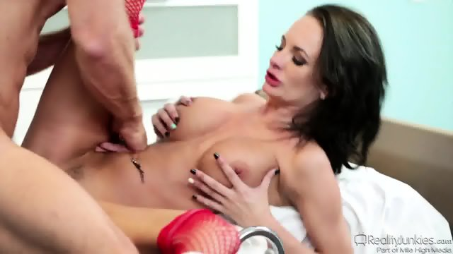 Crazy Nurse Rides Dick - Alektra Blue