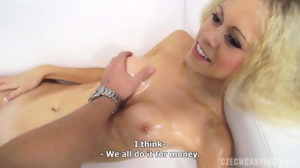 Nice Body Of Hot Amateur Blonde - scene 9