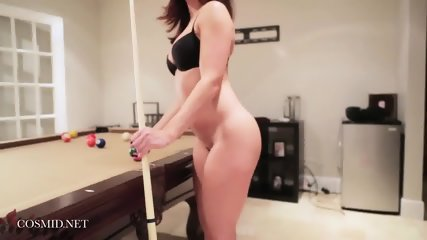 Playing Billiards With Sexy Babe - scene 9