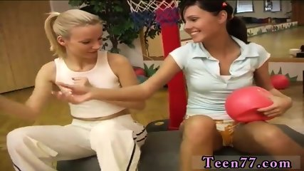Sex doll toy and blonde teen cousin first time Cindy and Amber