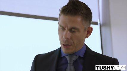 TUSHY Bree Daniels FIRST Anal Sex Scene - scene 2