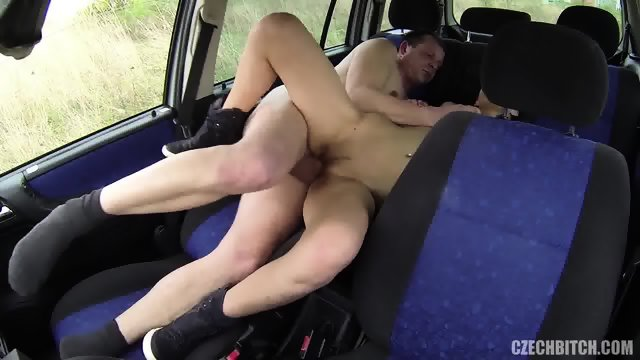 Whore Gets Fucked In The Car