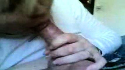 Blonde MILF sucks a dick - scene 7