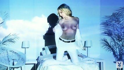 Elegant Blonde Takes Off Clothes - Michelle McLaughlin