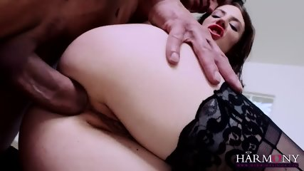 Elegant Bitch With Hairy Pussy Gets Banged In Ass
