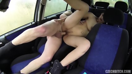 Whore Fucked Hard In The Car