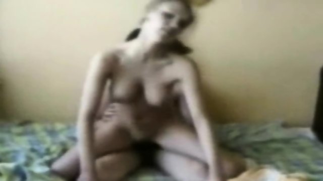 Blonde Teen Jumping On My Cock