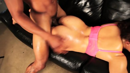 Masked Girl And Two Cocks - scene 7