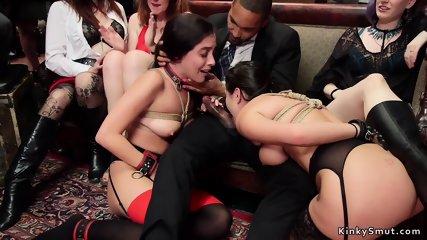Orgy hot slaves suck and fuck big dicks