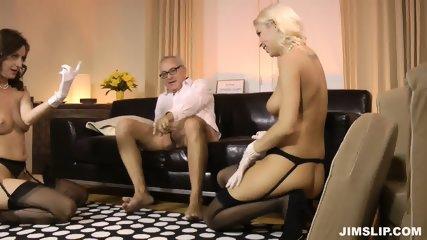 Two Slutty Ladies With Stockings - scene 10