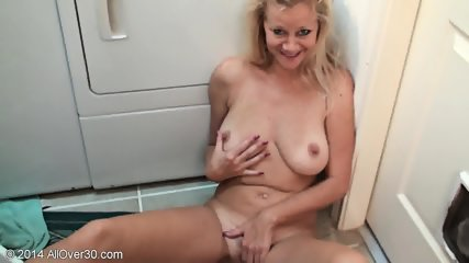 Sexy Mommy Shows Her Tits And Pussy - scene 9