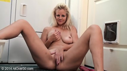 Sexy Mommy Shows Her Tits And Pussy - scene 11