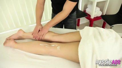 Cum On Her Belly After Hardcore Massage - scene 2