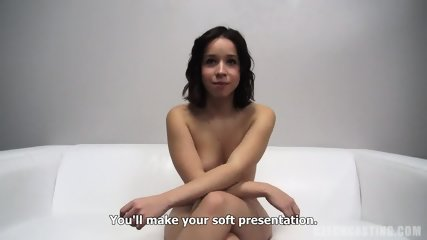 Cock In Her Mouth And Pussy At The Casting - scene 6
