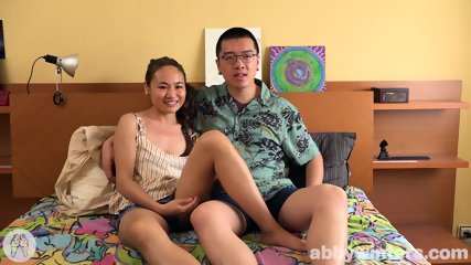 Asian Couple In Action - scene 1