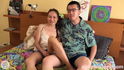 Asian Couple In Action - scene 2
