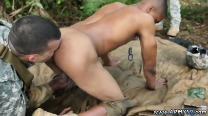 Army men having raw sex with gay guys Jungle pulverize fest