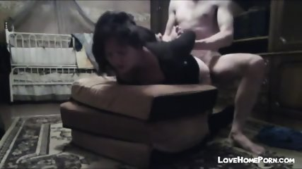 Cute Bitch In Short Skirt And Heels Gives Bj And Then Gets Fucked With Hands Tied Behind Her Back - scene 12