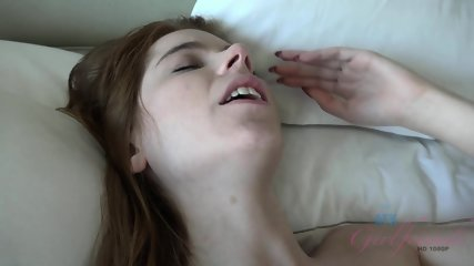 Cute Girlfriend With Sperm In Cunt - scene 3
