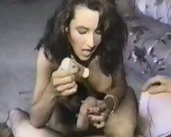 Handjob and Dirty Talk - scene 2