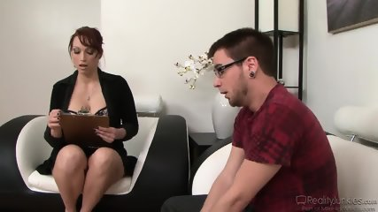 Busty Therapist Gives Ass - Nicki Hunter - scene 3