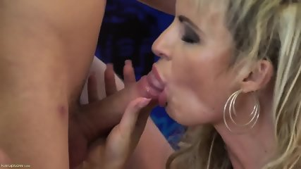Mature Blonde Rides Hard Cock - Lucy - scene 2