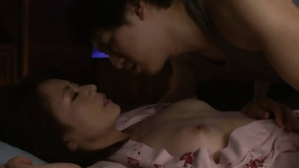 JAV Stepmom Cheating With Son Right Next To Her Old Husband - scene 1