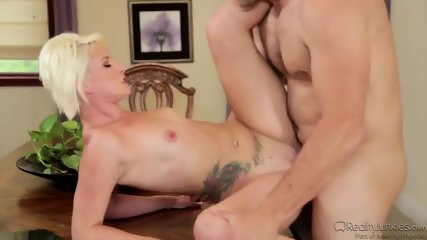 Sexy Blonde Dani Is Addicted To This Dick