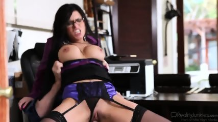Guy Cheats On Wife With Slutty Secretary Eva Angelina
