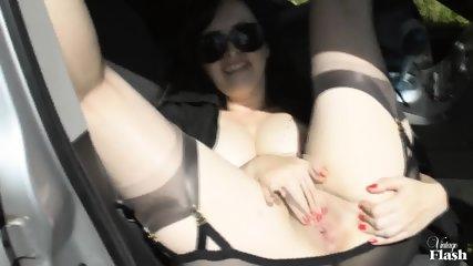 Kinky Amateur Masturbates In Public - scene 10