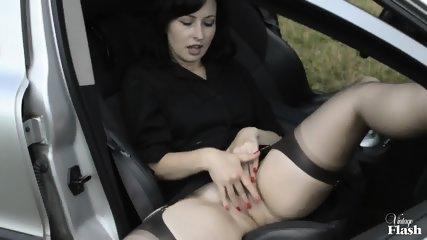 Kinky Amateur Masturbates In Public - scene 7