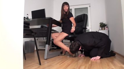Slaves In Foot Torture By Dominant Ladies - scene 6