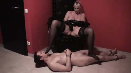 Slaves In Foot Torture By Dominant Ladies - scene 7