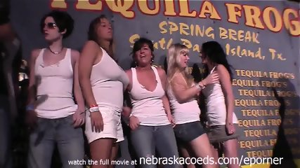 College Spring Break Wet T Contest - scene 9
