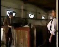 Cassandra as German Milk Maid - scene 2