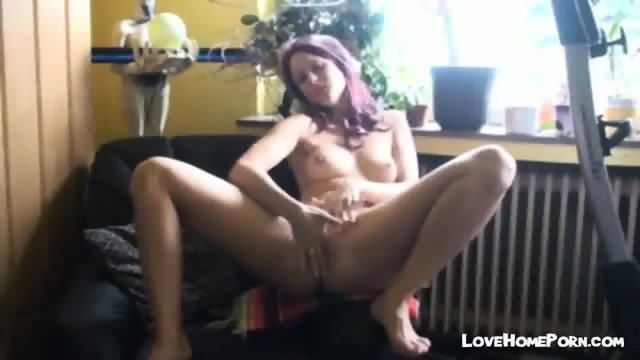 Cute Girl Dirty Talking While Masturbating