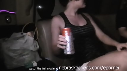 Party Slut Lesbians Fingering Eachother In Spring Break Limo - scene 2