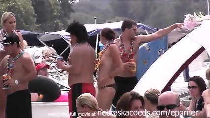 Getting Very Slutty At This Lake Party - scene 8
