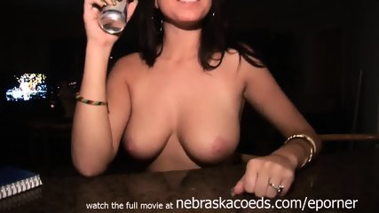 Kansas University Student Molested And Finger Blasted On My Bed After Party - scene 2