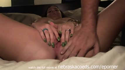 Kansas University Student Molested And Finger Blasted On My Bed After Party - scene 5