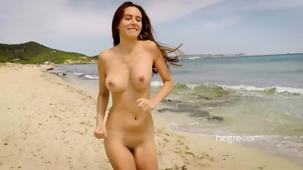 Alisa On Beach - scene 5