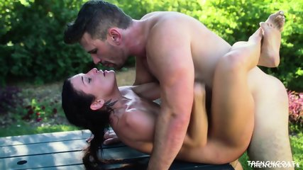 Outdoor Training Turns Into Sex - scene 11