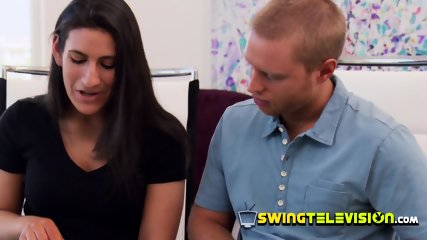 Couple s first swinger experience on TV