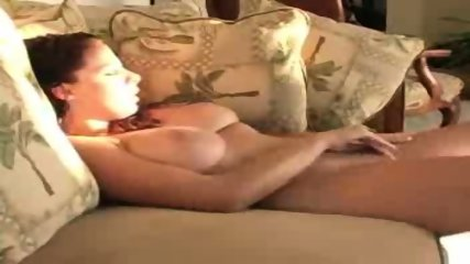Busty amateur playing with her snatch - scene 6