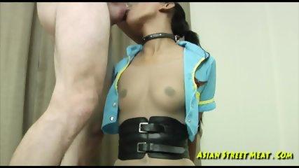 Asian Slut In Bondage - scene 12