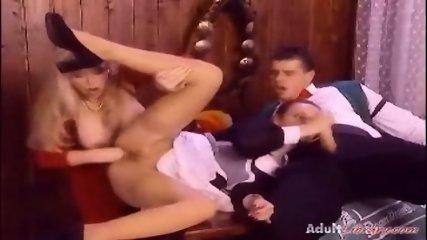 Retro Anal fisting 3some - scene 9