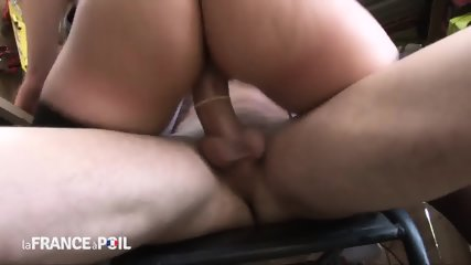 European Teen Rides Dick