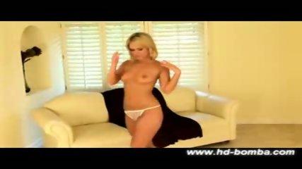 Hot Blonde Sasha Knox hardcore solo - scene 2
